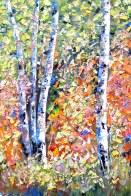 birch forest 1.5 june 7 24x36