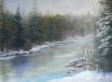 Frosty River