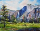 Yosemite 11x14 Oil On Hardboard