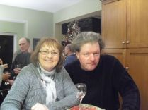 mike todoroff and janet kohler 2013 Xmas Party