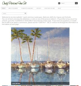 cindy parson website shot
